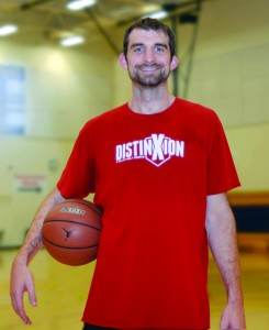Luke Zeller at a DistinXion Camp in Sullivan, Indiana.