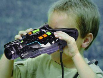 Boy binoculars