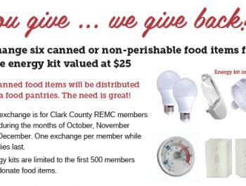 Clark County REMC energy kit promo ad
