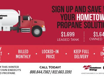 Hometown Energy propane ad