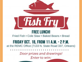 Orange County REMC Fish Fry Ad