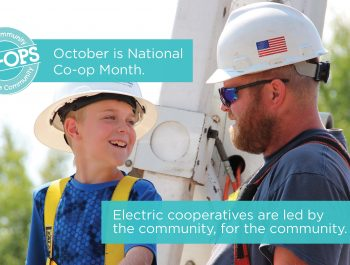 National Cooperative Month advertisement