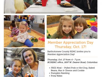 Bartholomew County REMC Member Appreciation Day Ad