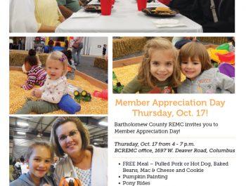 Bartholomew County REMC Member Appreciation Day Ad