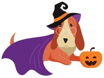 Halloween Dog Art