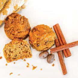 Pumkin bran muffins