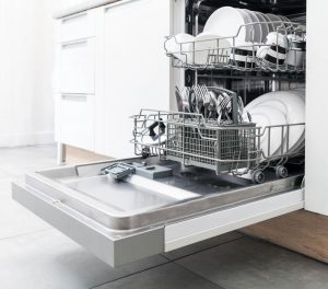 Dishwasher with full load