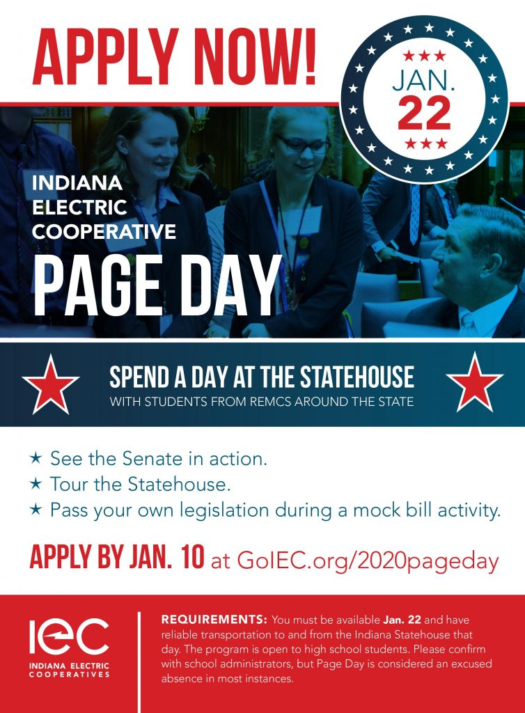 Ad for 2020 Page Day