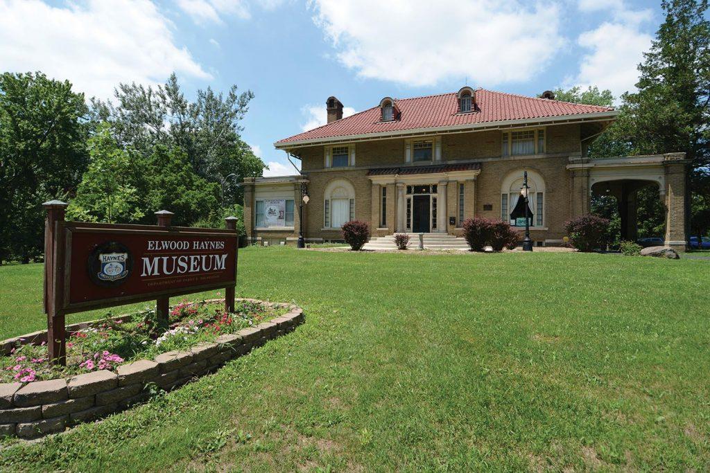 Photo of Elwood Haynes Museum in Kokomo.