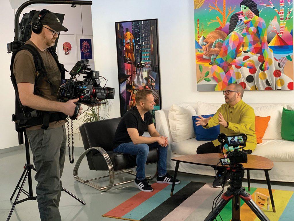 Nate Heck filming video