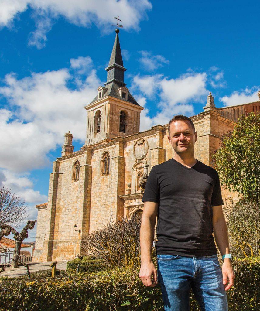 Nate Heck in Spain