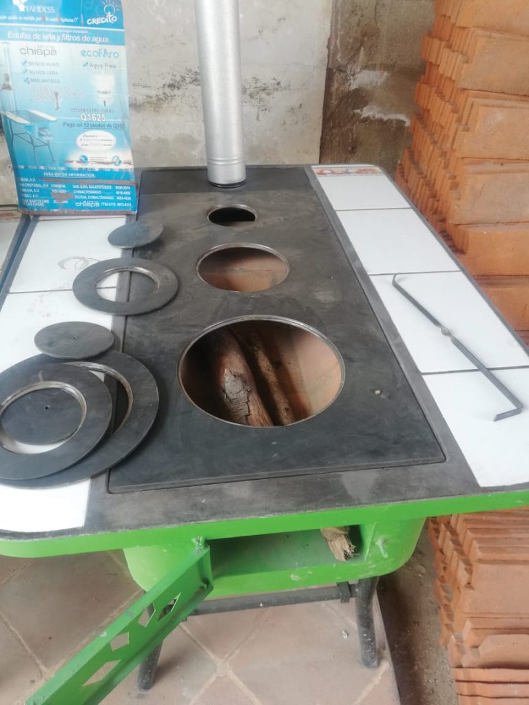 Sample of a cook stove to be installed in Guatemala