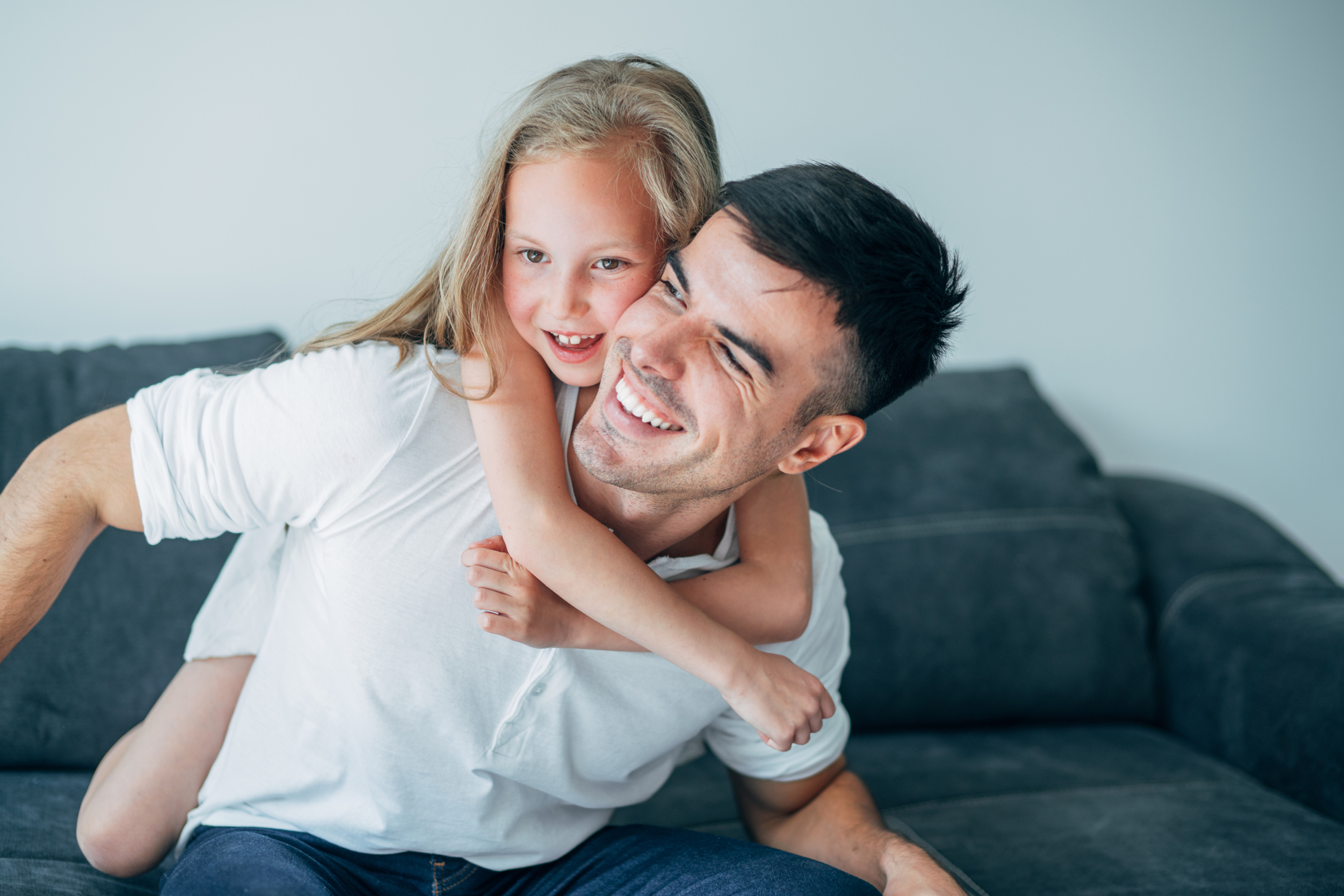 Photo of Dad and Daughter