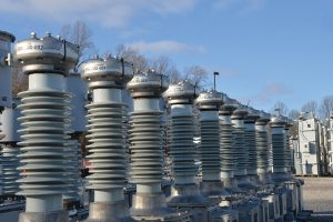 Photo of power transformers