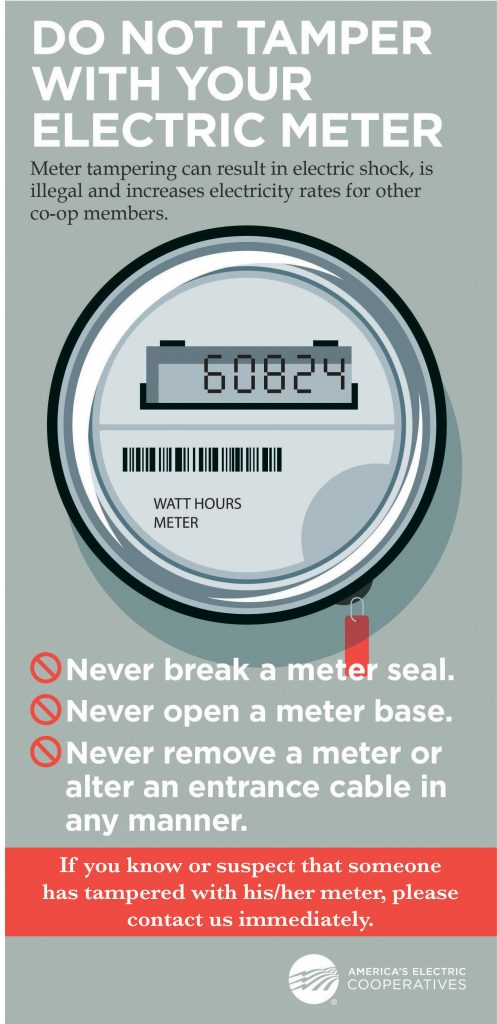 Meter tampering infographic