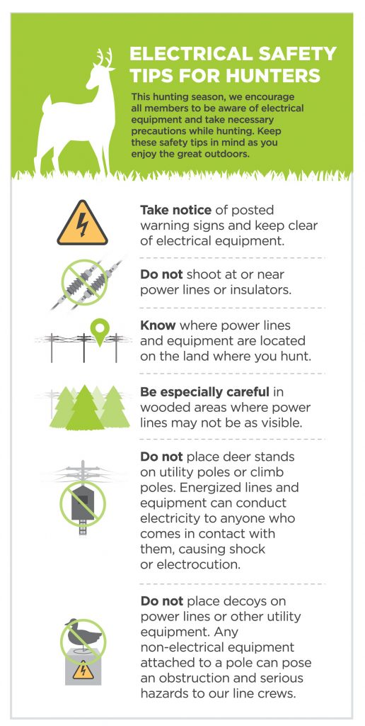 Hunter safety graphic