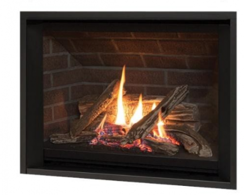 Miles Industry fireplace