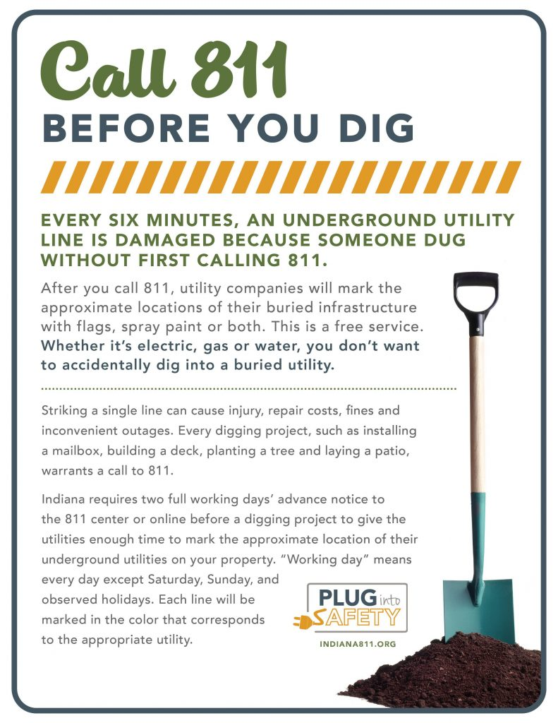 Call before you dig ad