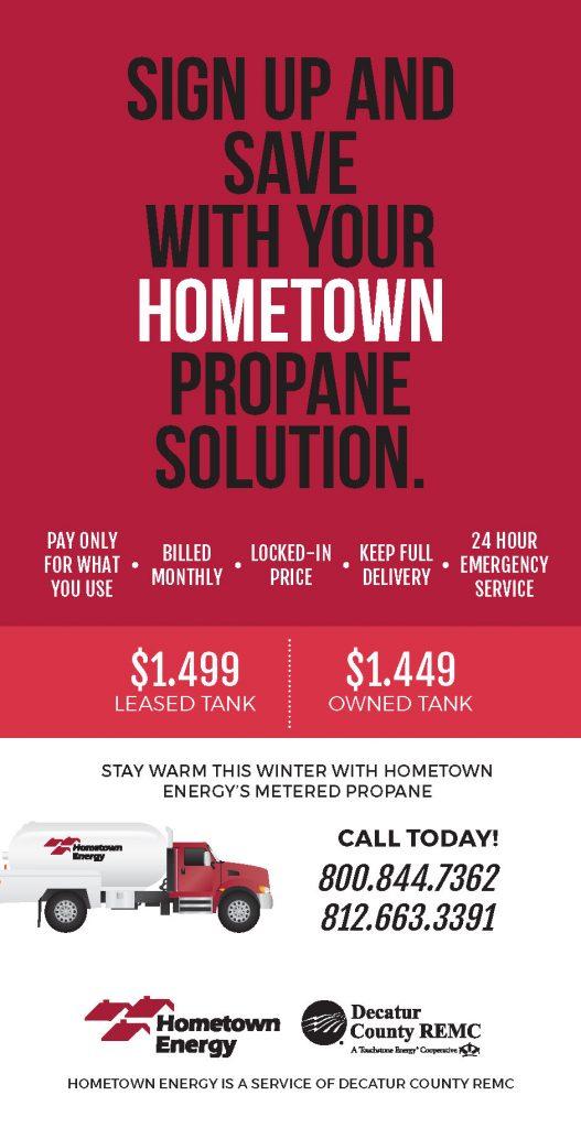 Hometown Energy Ad