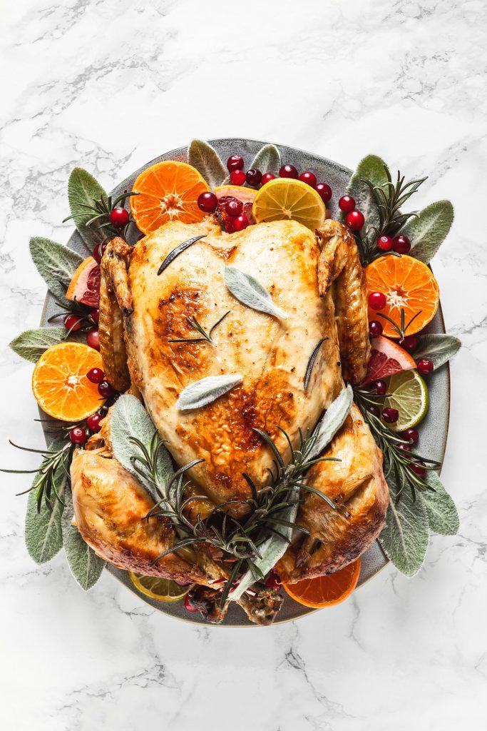 Cooked turkey