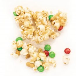 Peanut Butter-White Chocolate Popcorn