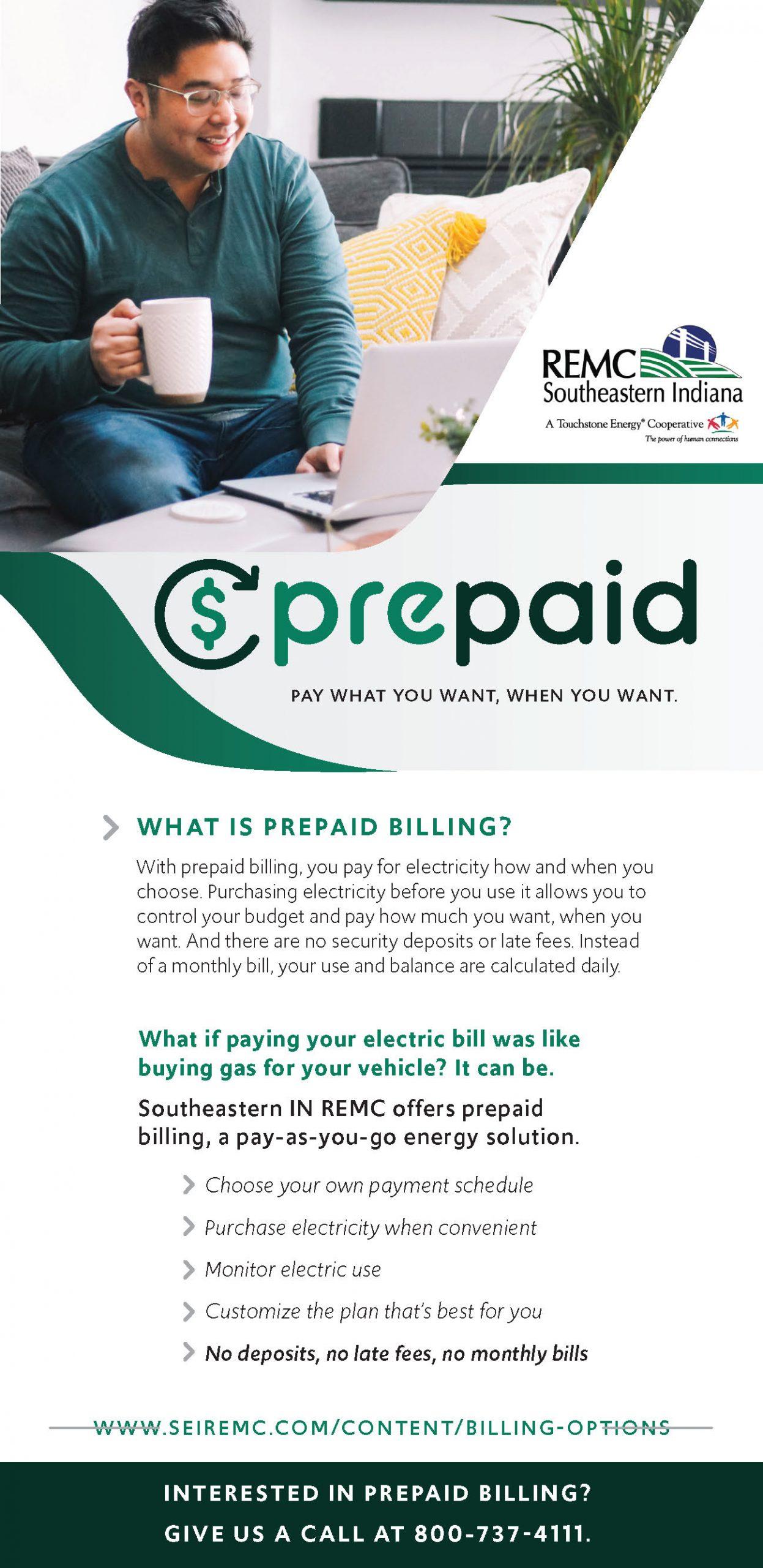 Prepaid ad