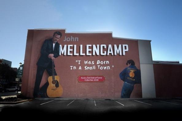 John Mellencamp mural