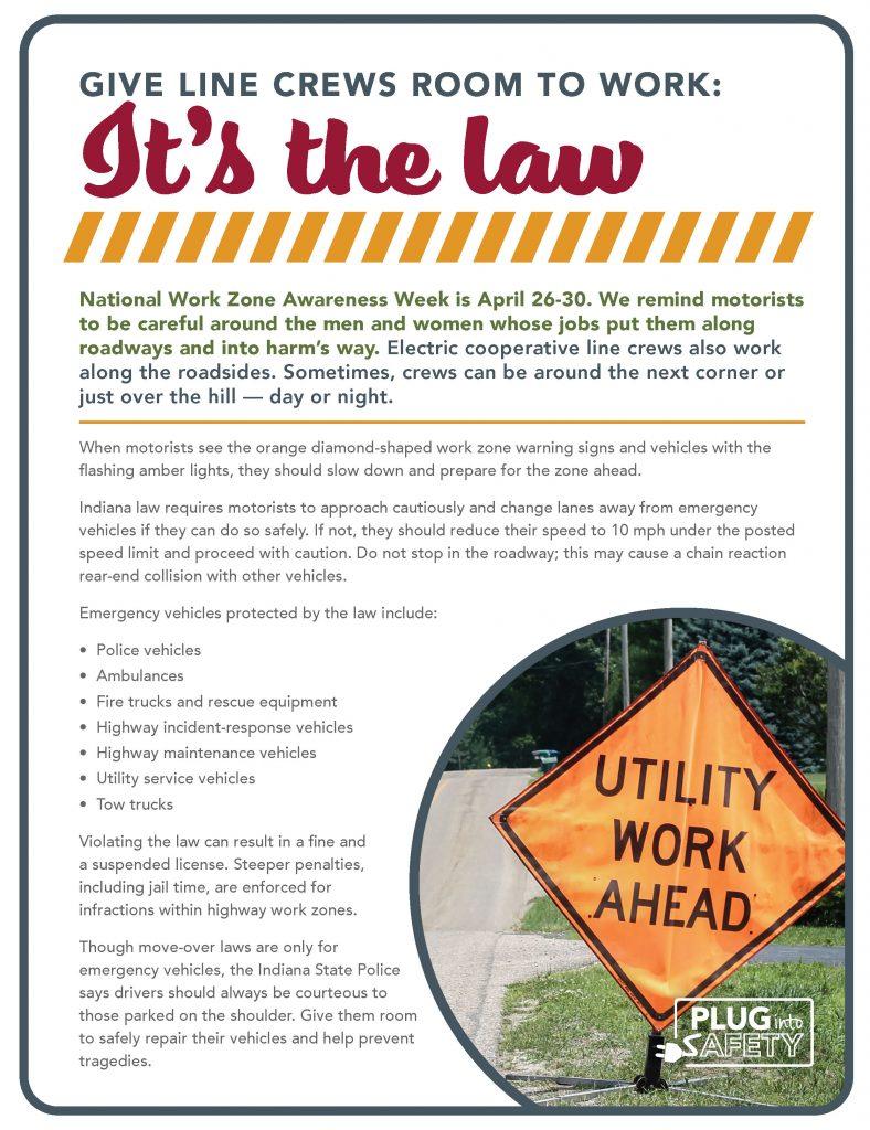 Line Crew Safety ad