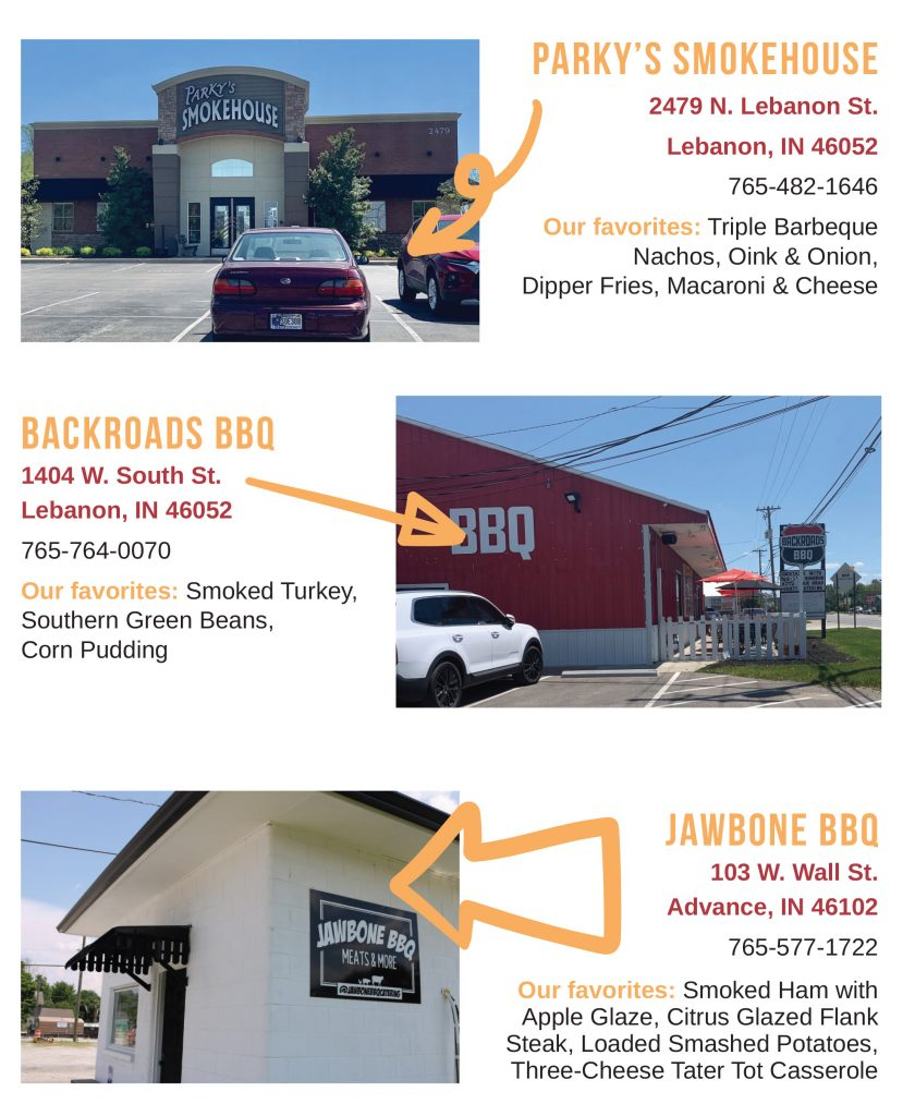 BBQ joints infographic