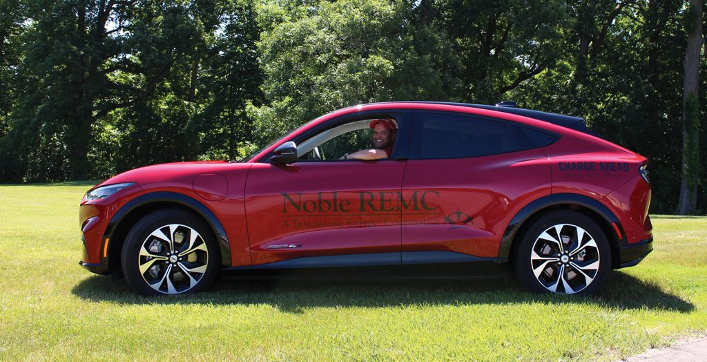 Noble REMC Mustang