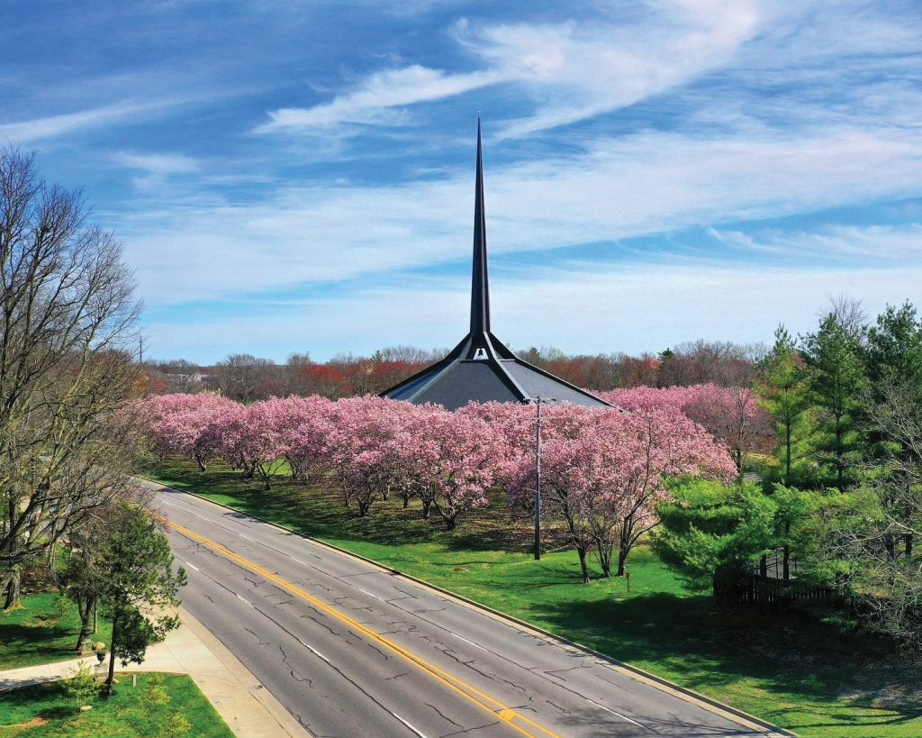 Photo of North Christian Church in Columbus, IN.
