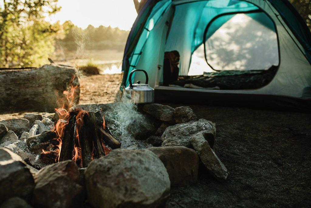 Campsite photo