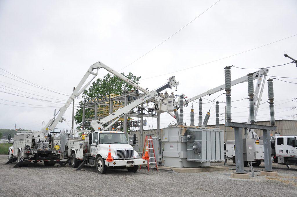 Noble substation