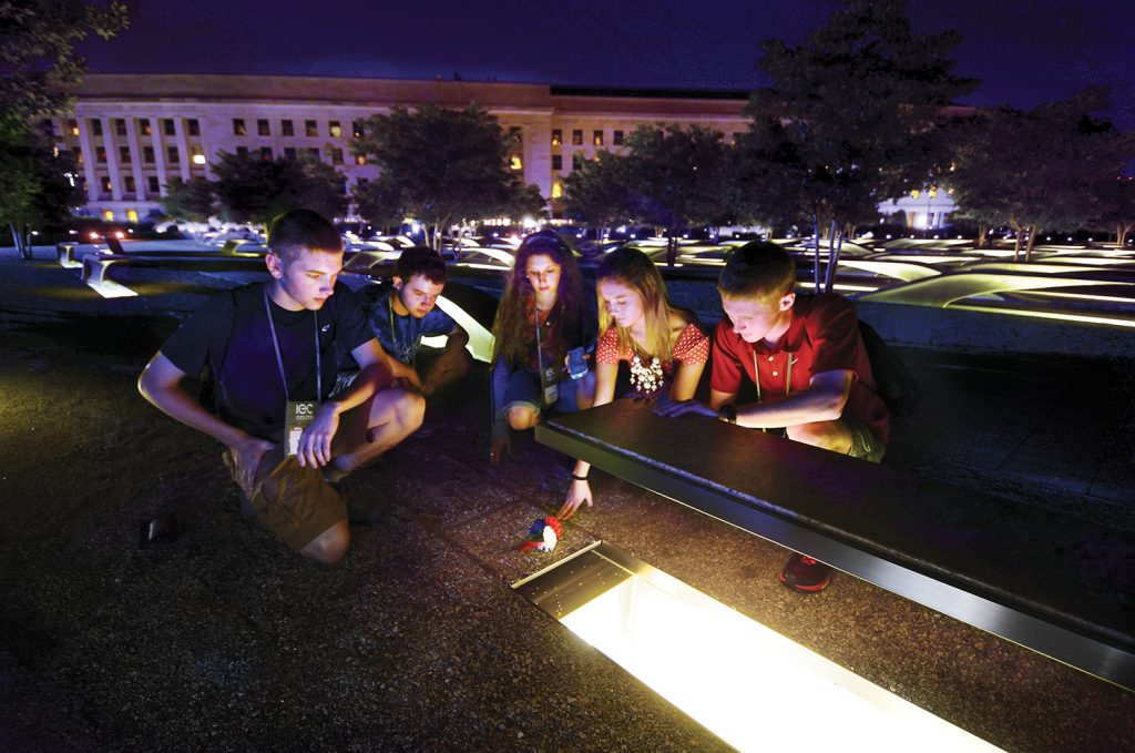 Youth Tour at Pentagon