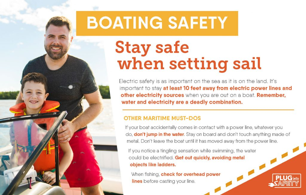 Boating safety ad
