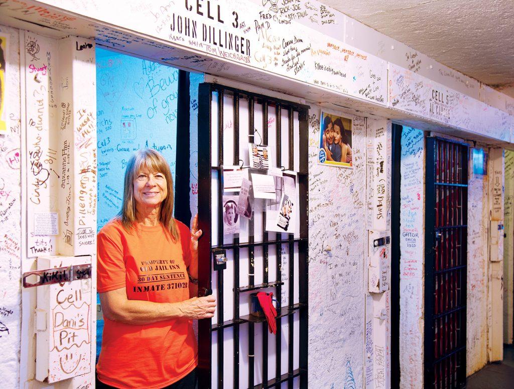 Patty Hawley at Old Jail Inn