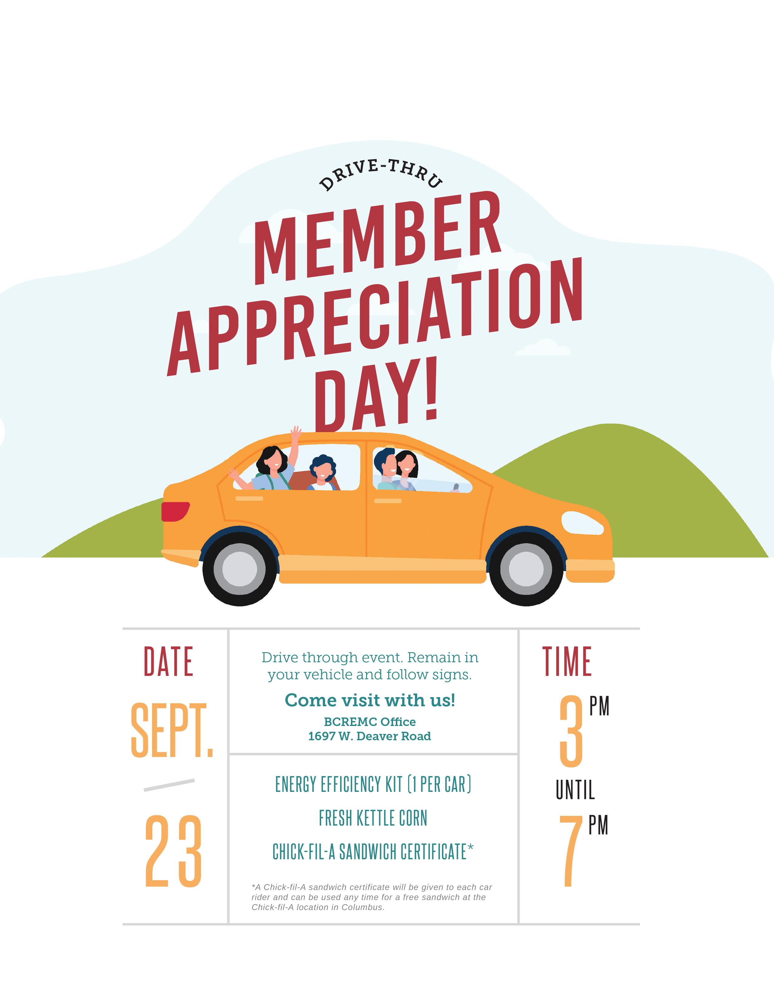 Member Appreciation Day ad